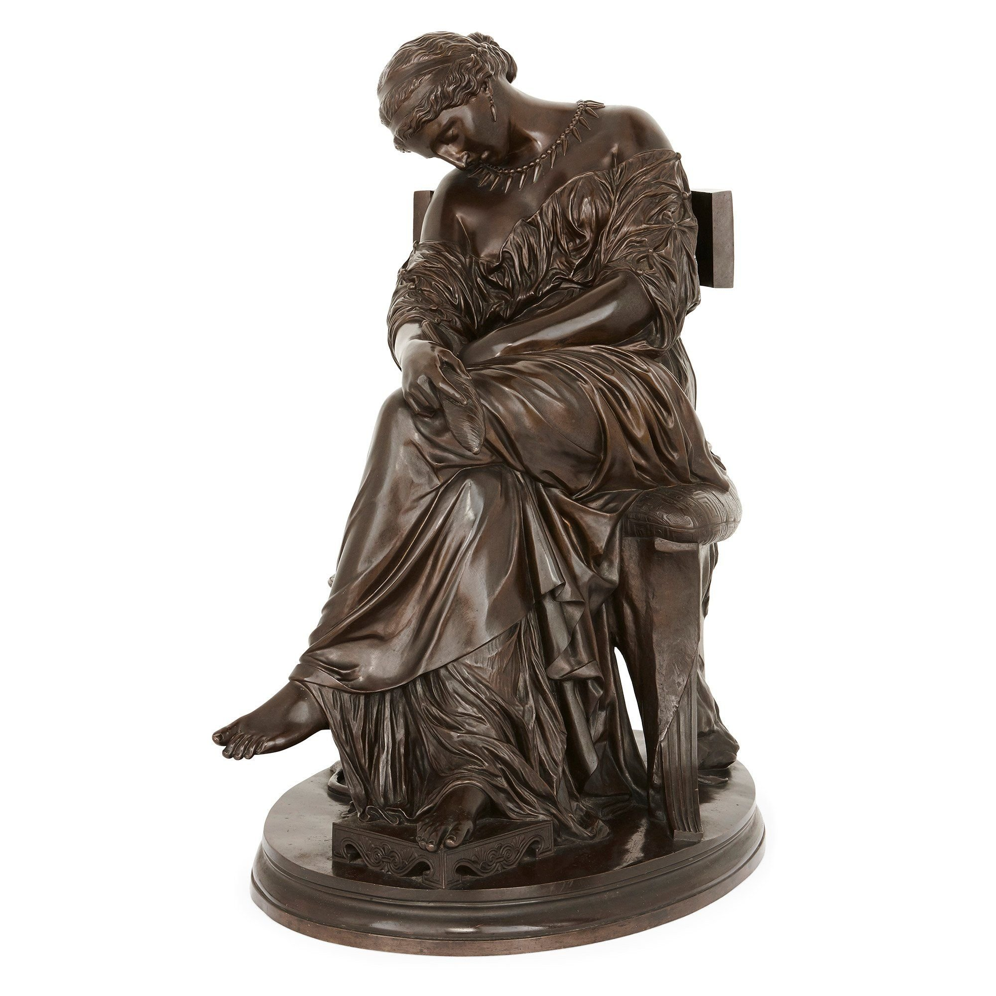 Reproduction Lanceray Bronze Sculpture   Sale Number 2699M