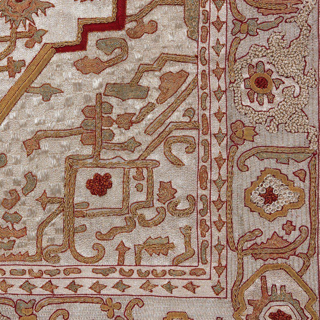 Hereke Silk Rug Youtube: Pair Of Hereke Silk And Metal Thread Antique Turkish Rugs