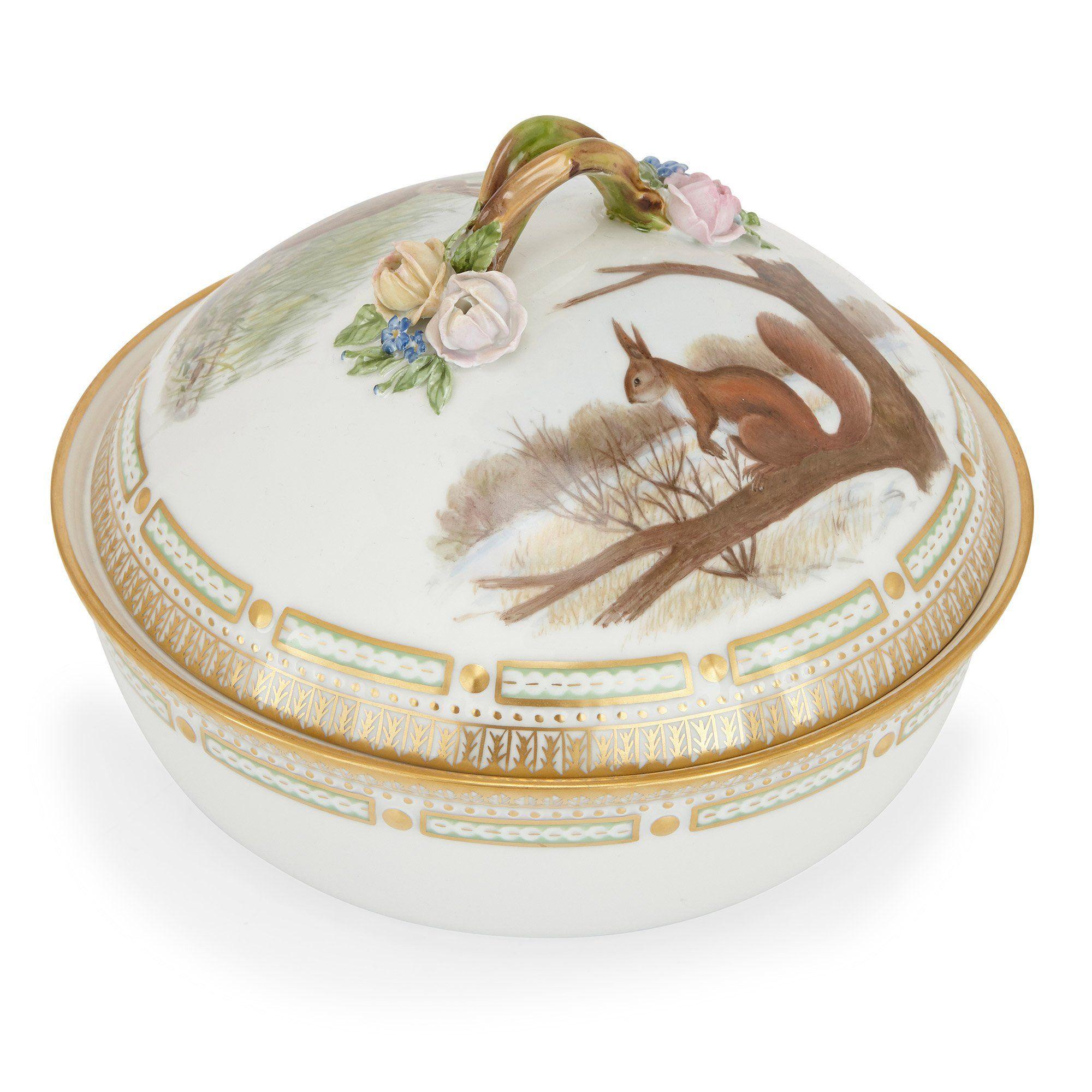 Royal Copenhagen Porcelain Flora Danica Dinner Service