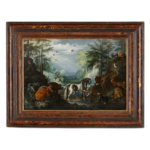 'Paradise Landscape', Old Master painting by Roelandt Savery