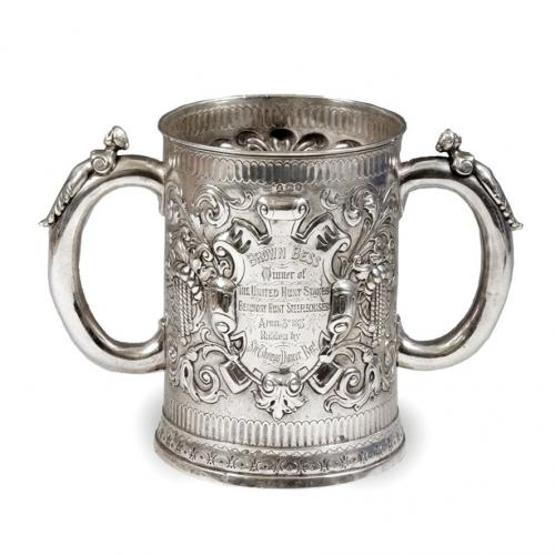 A William IV silver two handled cup, by William Ker Reid, London 1833