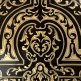 Pair of ebonised wood Boulle style cabinets by Maison Krieger