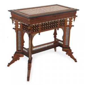 Syrian antique dressing table in the Moorish style