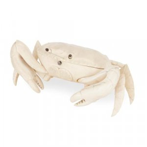 19th Century ivory box in the form of a crab