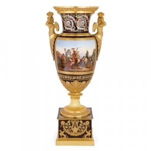 Monumental museum-quality Paris porcelain vase