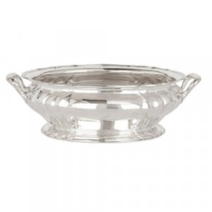 Antique German silver centrepiece bowl