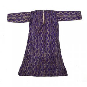 Two Ottomon period metal thread-embroidered Caftans (1)