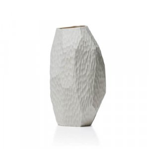 Contemporary porcelain 'Fragment Vase' by Vezzini and Chen
