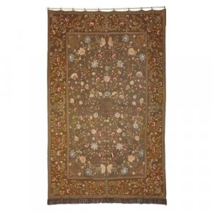 Italian Baroque style antique wall tapestry