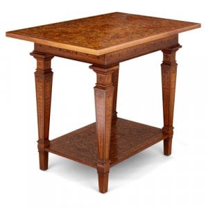 Baroque period German marquetry table