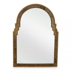 Italian giltwood Louis XIV style antique mirror