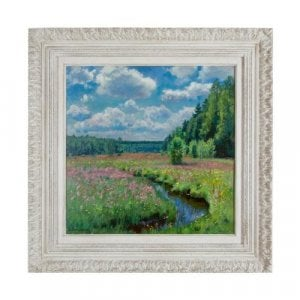 Summer Meadow in Pobojka painting by S. Zhukovsky