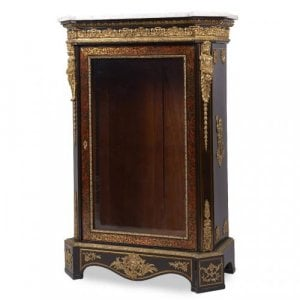 Napoleon III period ormolu mounted antique Boulle vitrine