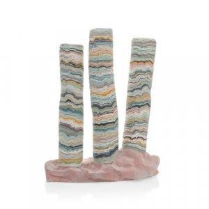 'Mirasi Lock', contemporary porcelain sculpture by Alice Walton