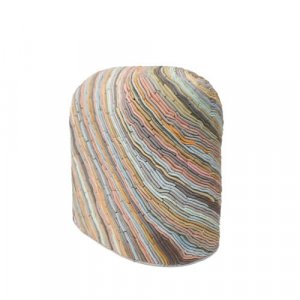 'Avonvale Mapping', coloured porcelain sculpture by Alice Walton