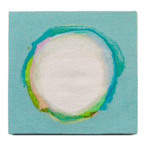 'Float', handwoven contemporary abstract tapestry by Jo Barker