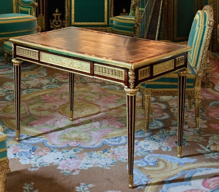 Desk for Marie Antoinette by Jean Henri Riesener at the Palace of Versailles