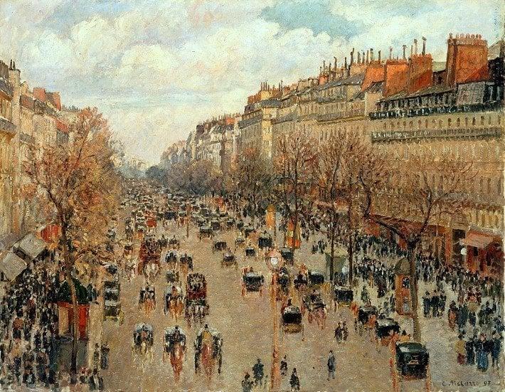 Camille_Pissarro_-_Boulevard_Montmartre