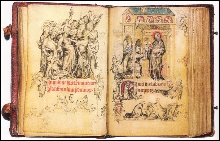 Hours of Jeanne d'Evreux, by Jean Pucelle, Paris, 1320s.