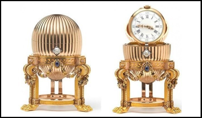 The third Imperial Egg by Faberge