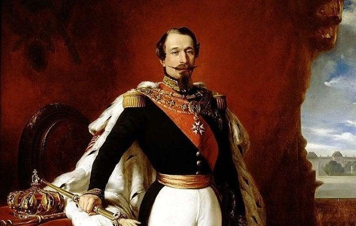 Napoleon III by Franz Xavier Winterhalter