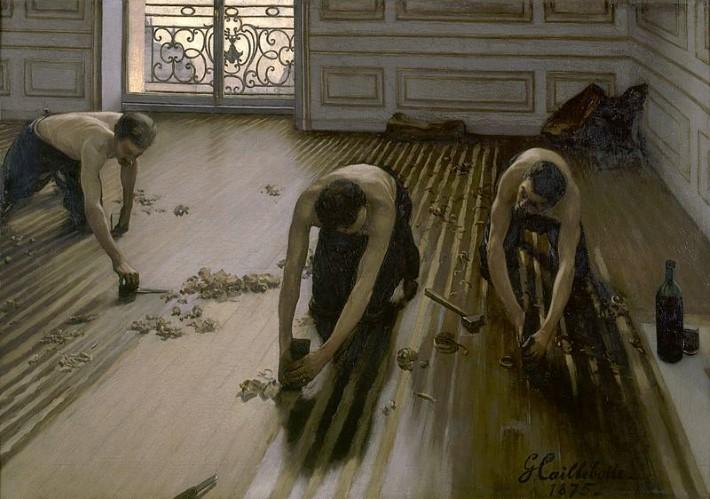 Caillebotte floor scrapers