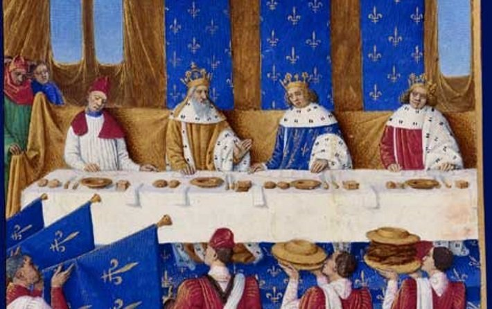Banquet of Charles V and Charles IV