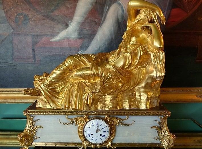 Barbedienne mantel clock