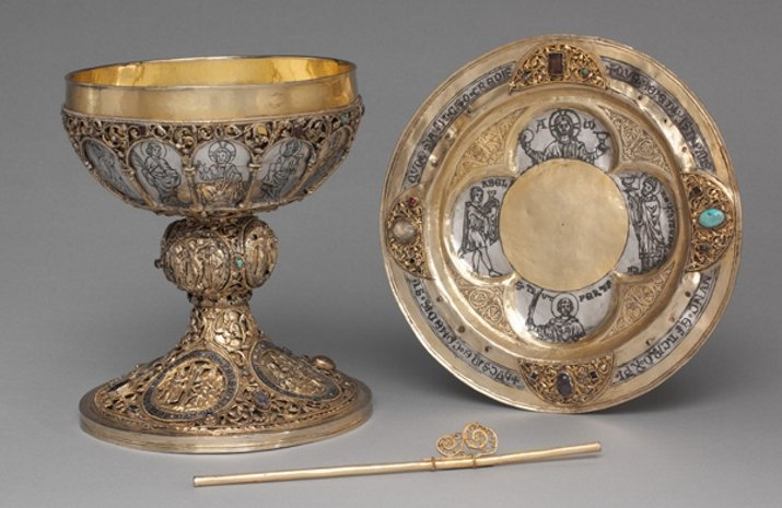 German chalice and paten