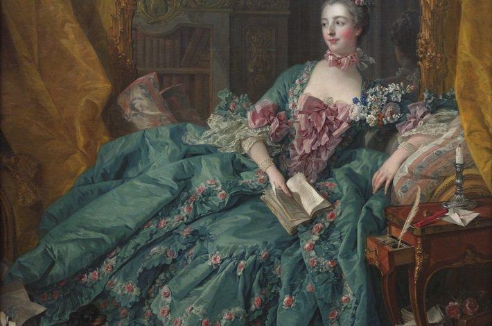 francois boucher potrait of madame de pompadour
