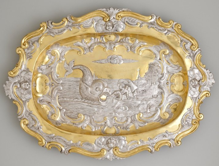 Salver by Elkington & Co