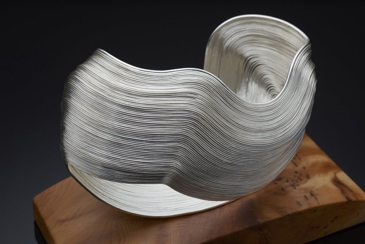 Silver sculpture by Nan Nan Lui