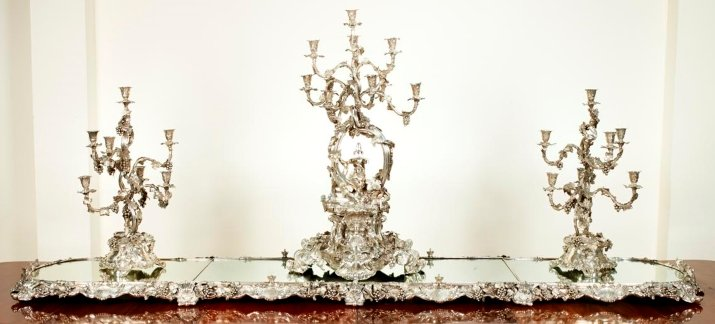 Garniture de Table by Garrards silversmiths