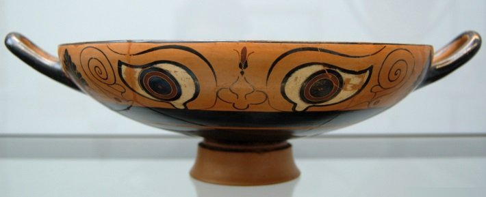 Late 6th Century Greek kylix cup