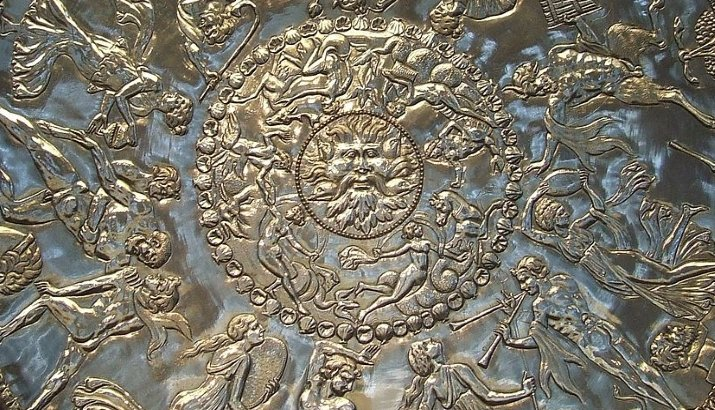 Repousse work