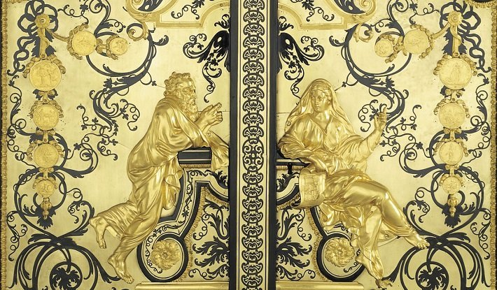 Boulle cabinet in Royal Collection