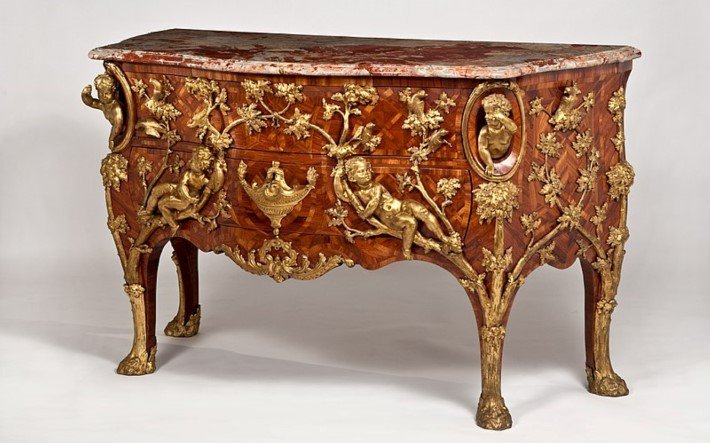 Charles Cressent rococo period commode