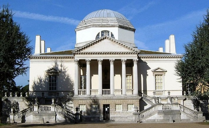 neoclassical architecture chiswick house