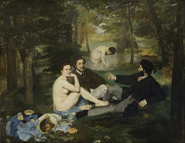 Dejeuner sur le herbe by Manet