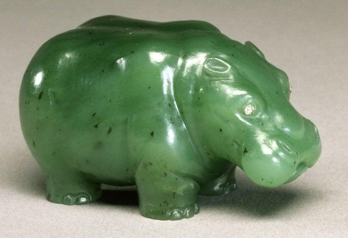 Faberge hippopotamus, c. 1900