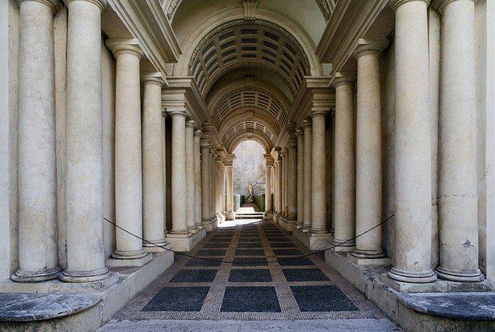 palazzo spada by borromini