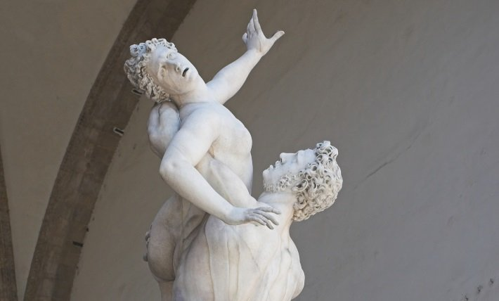giambologna rape of the sabine women