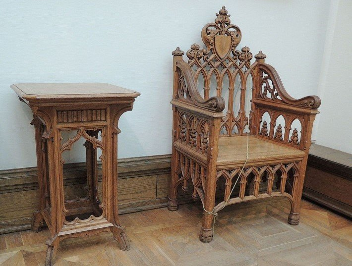 gothic revival furniture