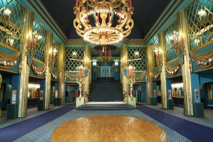 Grand Foyer of the Folies Bergere Cabaret
