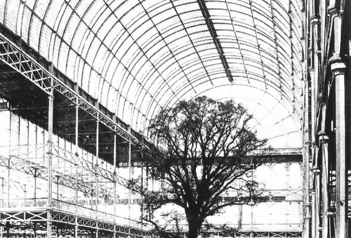 Interior of the Crystal Palace in 1851