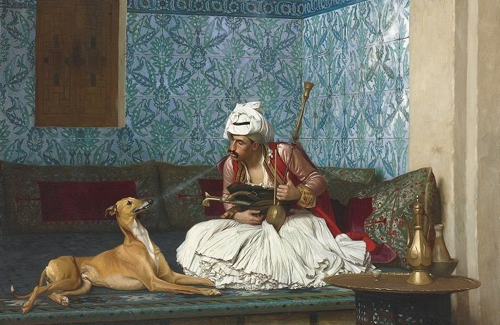 Une Plaisanterie by Jean-Leon Gerome