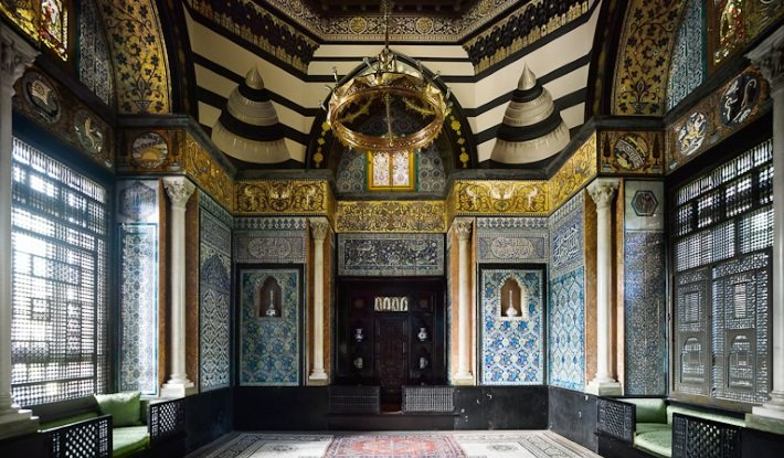 The Arab Hall at Leighton House Museum