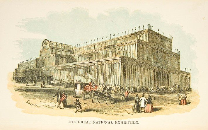 london's Great Exhibition of 1851 at the Crystal Palace