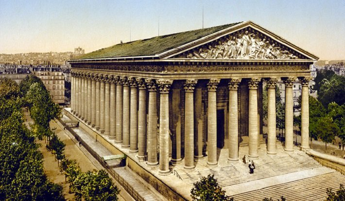 neoclassical architecture madeleine paris