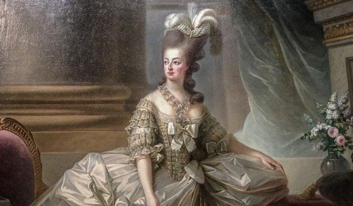 Marie Antoinette by Elisabeth Vigee Le Brun